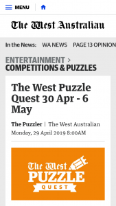 The West Puzzle Quest – Will Receive an Ikea Gift Card to The Value of $200 (prize valued at $1,000)