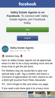Valley Estate Agents – Win a $100 Gift Voucher From Peter Alexander