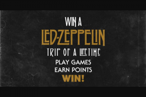 Warner Music-I Like Your Stuff – Win a Led Zeppelin Trip of a Lifetime