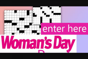 WOMAN'S DAY DATED 27TH MAY ISSUE 22 – Competition
