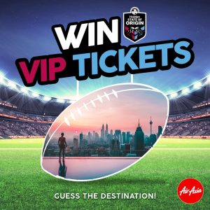 AirAsia – Win VIP tickets to Holden State of Origin II in Perth