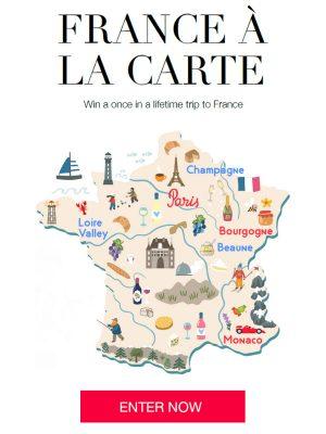 Atout France – Win a trip for 2 to Paris