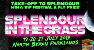 Ballina Shire Council – Win a travel prize package for 2 to the 2019 Splendour in the Grass