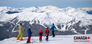 Blue Power Travel – Win a family ski trip for 4 people to Whistler, Canada