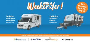 Caravan Industry Association – Win 1 of 2 major prizes OR 1 of 75 minor prizes