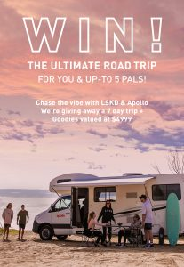 LSKD – Win 7-night stay in an Apollo motorhome for 6 people