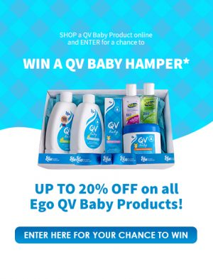 Pharmacy Direct – Win a QV Baby prize pack