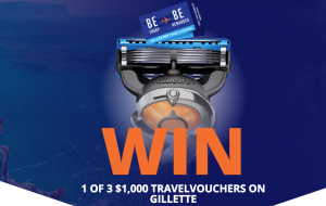 Procter & Gamble Australia – Win 1 of 3 Flight Center travel voucher