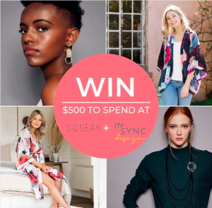 Squeak & inSync Design – Win $500