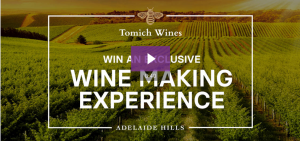 The Wine Collective – Win a Wine Making Experience at Tomich Wines