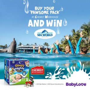 Unicharm – BabyLove – Win a family holiday of 4 to Sea World