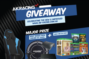 AKRacing – Win a Deluxe Cinefestoz Film and Feast Experience