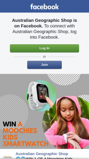 Australian Geographic Shop – Win 1 of 4 Moochies Kids Smartwatch Valued at $189.99 (prize valued at $760)
