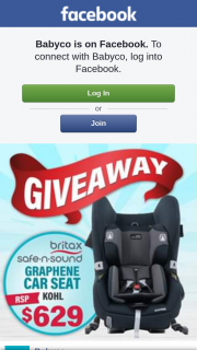 Babyco – Win this Awesome Britax Safe-N-Sound Graphene Car Seat Worth $629 (prize valued at $629)