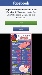 Big Gun Wholesale Meats Underwood – Win One of 2 $100 Vouchers (prize valued at $200)