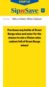 Bottlemart – Sip n Save – Win a Prize (prize valued at $1,513)