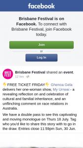Brisbane Festival – Win a Double Pass to See Ghenoa Gela's My Urrwai Show at Qpac