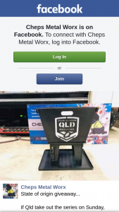 Cheps metal worx – Win a Qld State of Origin Fire Pit