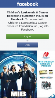 Children's Leukaemia & Cancer Research – Win 1 of 3 Great Men In Black International Prize Packs
