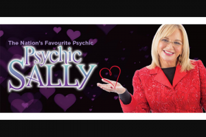 Community News – Win One of 10 Double Passes to See Psychic Sally on Saturday 6 July