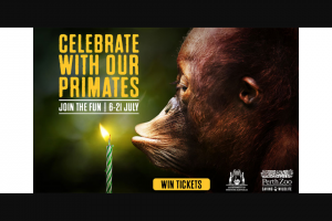 Community News – Win One of 85 Family Passes (valid for Four People) to Perth Zoo