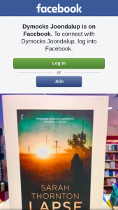 Dymocks Joondalup – an Advanced Reading Copy of Book That Has Yet to Be Released to The Public