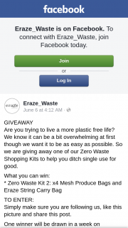 Eraze_Waste – One of Our Zero Waste Shopping Kits to Help You Ditch Single Use for Good