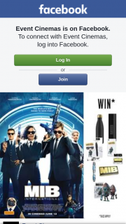 Event Cinemas Carindale – Win a Mib Pack