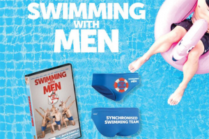 Female – Win One of 3 X Swimming With Men Packs Valued at $74.00 Each Including (prize valued at $74)