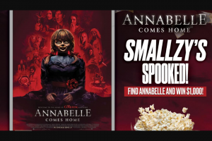 Find Annabelle and – Win $1000