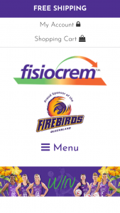 Fisiocrem – Win The Chance to Train With The Qld Firebirds (prize valued at $30)