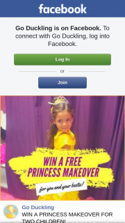 Go Duckling – Win a Princess Makeover for Two Children (prize valued at $198)