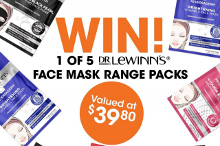 Good Price Pharmacy – Win a @drlewinns Face Mask Pack (prize valued at $39.8)