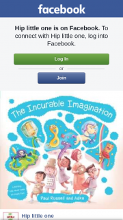Hip Little One – Win 1 of 3 Copies of The Gorgeous Ek Books Picture Book 'the Incurable Imagination' ?