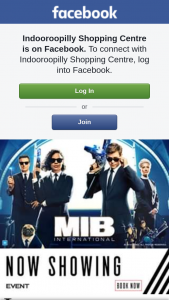 Indooroopilly Shopping Centre – a Mib International Prize Pack Including an Admit 4 Pass