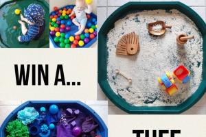Inspired Play – One Tuff Tray to a Lucky (prize valued at $84.99)