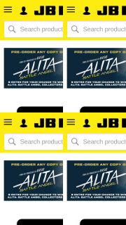 JB HiFi – Win 1 of 20 Alita (prize valued at $2,400)