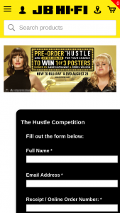 JB HIFI – Win 1 of 3 Posters Signed By Anne Hathaway & Rebel Wilson (prize valued at $450)