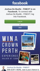 Joshua De Buelle – Win a $300 Crown Perth Voucher (prize valued at $300)