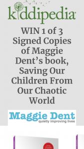 Kiddipedia – Win 3 X Copies of Maggie Dent's Book