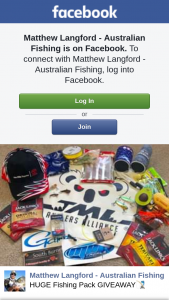 Matthew Langford Australian Fishing – Win a Great Fishing Pack to Get Them Out Fishing