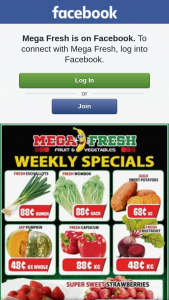 Mega Fresh Browns Plains – Win a $50 Fruit and Veg Voucher to Spend Instore (prize valued at $50)