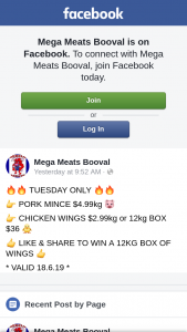 Mega Meats Booval – Win a 12kg Box of Wings