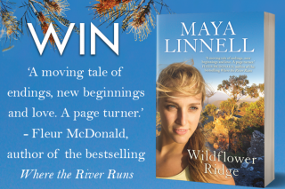 Mouths of Mums – Win 1 of 20 Copies of Wildflower Ridge By Maya Linnell