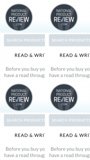 National Product Review – Win 1 of 3 X $500 Vouchers to Your Favourite Retailer (prize valued at $1,500)