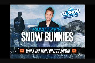 Nova FM Smallzy's Snow Bunnies – Win a Ski Trip for Two to Japan