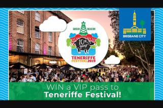 Nova 106.9 FM – Win a VIP Pass to Teneriffe Festival