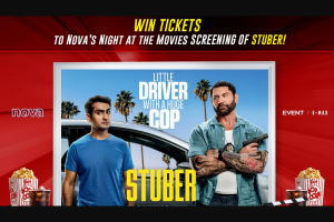 Nova 106.9FM – Win Preview Double Passes to See Stuber