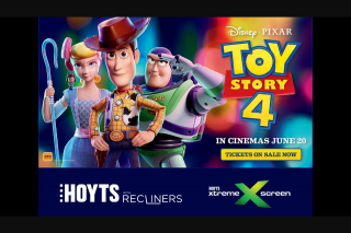 Nova 93.7 – Win a Preview Pass for You and 3 Guests (bring The Kids Or Your Big-Kid-At-Heart Mates) to Join Us at Our Night-Before-Release Preview Screening Inside Hoyts Carousel's New Recliner Xtremescreen