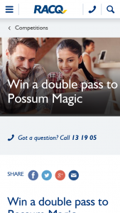 RACQ – Win 1 of 5 Double Passes to Possum Magic at Brisbane Powerhouse (prize valued at $70)